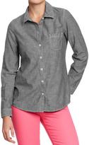 Old Navy Women's Chambray Shirts