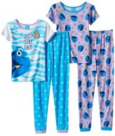 "Disney Pixar Finding Dory Girls 4-8 ""Just Stay Calm"" Pajama Set"
