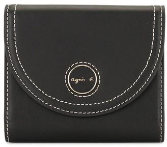 agnès b. Bi-Fold Envelope Wallet