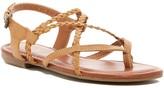 Mia Dannie Braided Thong Sandal