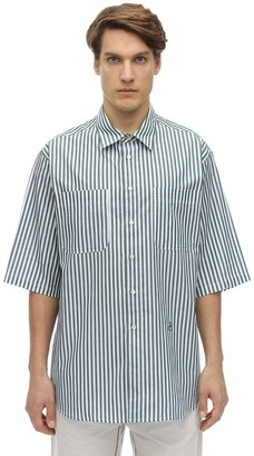 Isabel Marant Striped Cotton Poplin Shirt