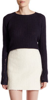 Inhabit Ribbed Cashmere Crew Neck Sweater