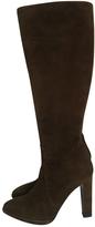 Hermes Brown Suede Boots