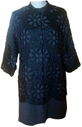 Lm Lulu Black Wool Coat for Women