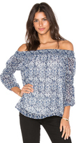 Greylin Jessalyn Off Shoulder Blouse