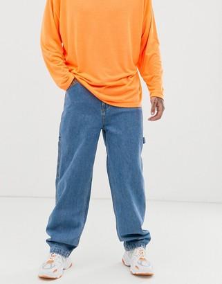 Karl Kani Baggy denim jeans in light blue