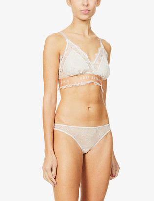 LOVE Stories Love Lacy stretch-lace bralette