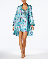 Thalia Sodi Floral-Print Wrap Robe, Created for Macy's