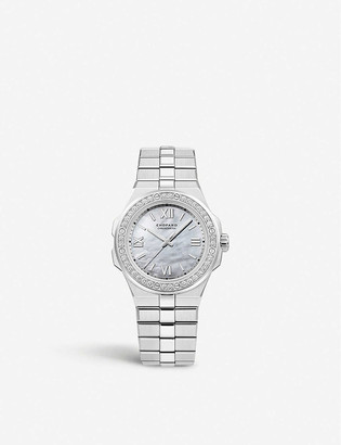 Chopard Alpine Eagle diamond and steel small watch