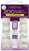 Nailene 200 Full Cover Nails - Short Square