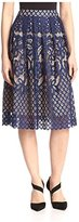 Allison Collection Women's Lace Full Skirt