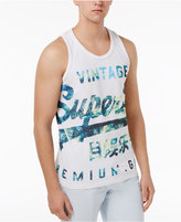 Superdry Men's Premium Goods Graphic-Print Logo Cotton Tank