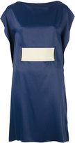 MM6 MAISON MARGIELA belted dress - women - Viscose/Acetate - 40