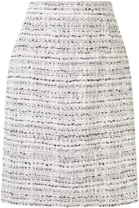 Giambattista Valli High-Rise Tweed Pencil Skirt