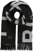 J. Lindeberg FRAME Scarf grey/black