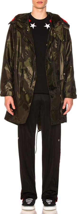 Givenchy Hooded Fishtail Jacket