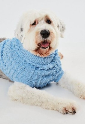 Missguided Boucle Knit Dog Jumper