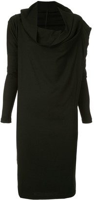 Masnada Funnel Neck Dress