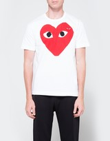 Comme des Garcons Play T-Shirt Red Heart