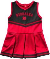 Colosseum Girls Infant Scarlet Nebraska Cornhuskers Pinky Cheer Dress