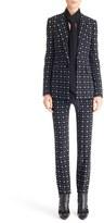 Givenchy Women's Print Stretch Cady Jacket