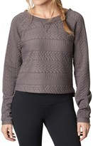 Prana Dimension Crop Top - Long Sleeve (For Women)