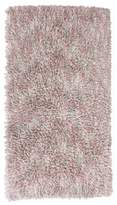 Thro Misha 2-Foot 3-Inch x 3-Foot 4-Inch Shag Scatter Area Rug in Pink