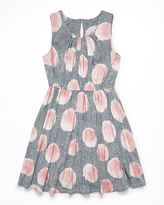 Jigsaw Girls Bubble Print Dress