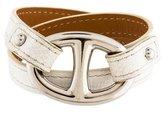 Hermes Granville Double Tour Wrap Bracelet