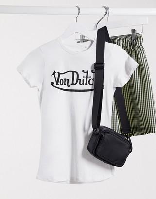 Von Dutch logo t-shirt