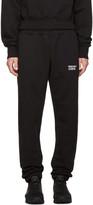 Resort Corps Black Survetement Lounge Pants