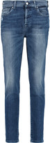7 For All Mankind Josefina mid-rise straight-leg jeans