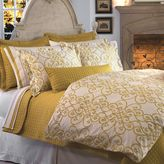Bed Bath & Beyond Downtown Company Freccia Reversible Duvet Cover Set in Gold