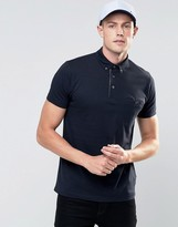 French Connection Short Sleeve Polo Shirt