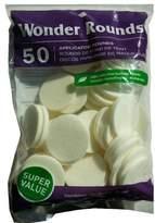Wonder Products Wonder Wedge 50 Large Cosmetic Wedges - Large White