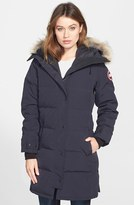 Canada Goose Women's Shelburne Genuine Coyote Fur Trim Down Parka