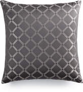 "Hotel Collection Modern Airbrush Geo 22"" Square Decorative Pillow, Created for Macy's"