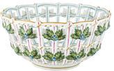 Herend Rothschild Bird Openwork Bowl