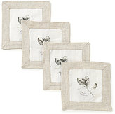Southern Living Mint Cocktail Napkins, Set of 4