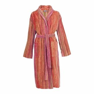 Elaiva Pink Grass Collar Bath Robe