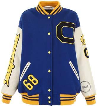 Calvin Klein Oversized Varsity Bomber Jacket
