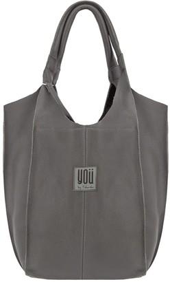 You By Tokarska Leather Handbag Malezia Grey
