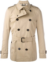 Burberry Kensington belted short trenchcoat - men - Cotton/Viscose - 50