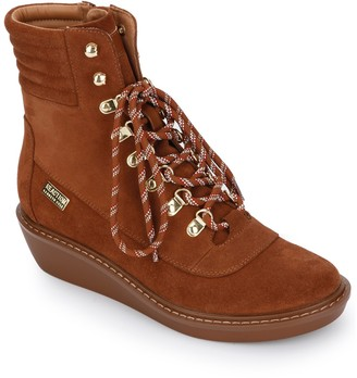 Kenneth Cole Reaction Rhyme Hiker Lace Up Suede Boot