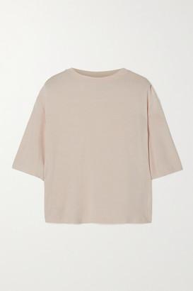 Varley Robin Stretch-bamboo T-shirt - Beige