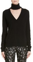 Michael Kors Women's Cutout Turtleneck Cashmere Sweater