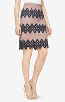 BCBGMAXAZRIA Lizzy Lace Skirt