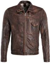 Gipsy Mason Leather Jacket Vintage Brown
