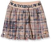 Scotch R'Belle Girl's Seasonal Flannel Metal Paillettes Skirt,152 (Herstellergröße: 12)