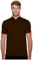 The Kooples Officer Collar Polo with Contrasting Trim Men's T Shirt